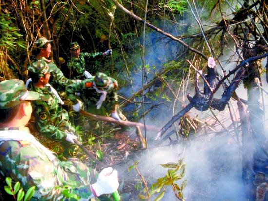 """腾冲县""""2·21""""中缅边境森林火灾应急处置"""