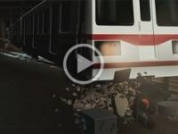 地铁脱轨事故动画警示教育影片