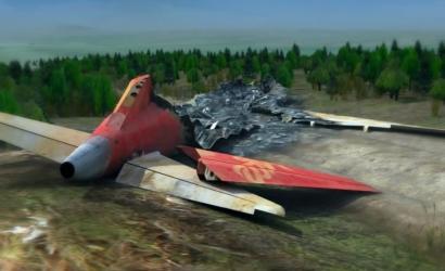 """黑龙江伊春""""8•24""""特别重大飞机坠毁事故三维动画模拟演示"""