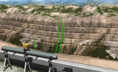 高陡边坡安全监测技术科研成果动画展示
