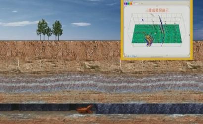 采空区探测技术科研成果三维展示