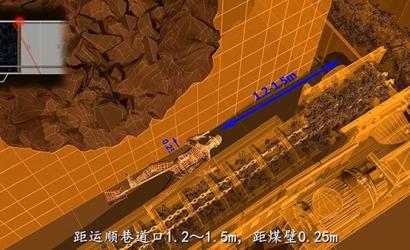 煤矿片帮事故动画模拟影片