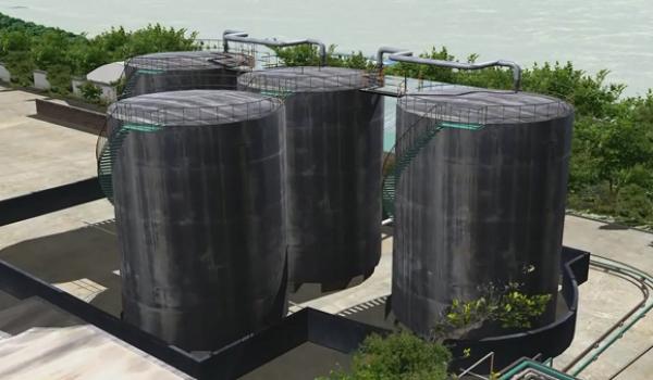 硫酸储罐泄漏事故风险评估模拟
