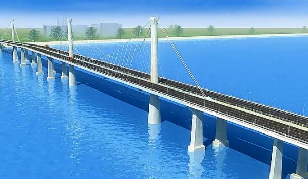 江东大桥工程结构施工工艺三维演示片